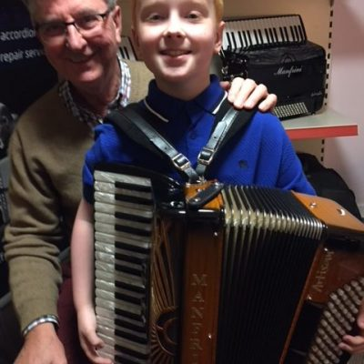 Inver with Robert Rolston Of Manfrini Accordions